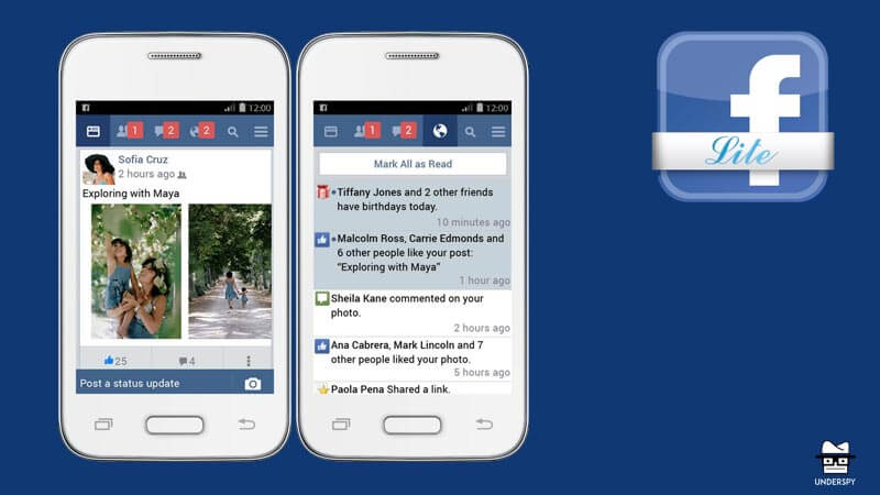 Facebook lite for android free download